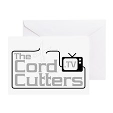The Cord Cutters (square) Greeting Card