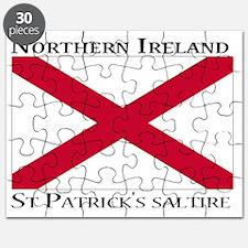 Northern Ireland - St. Patricks saltire Puzzle