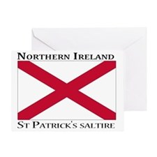 Northern Ireland - St. Patricks salt Greeting Card