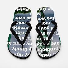 THE AMERICAN PATRIOT Flip Flops
