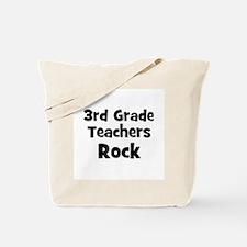 3rd Grade Teachers Rock Tote Bag