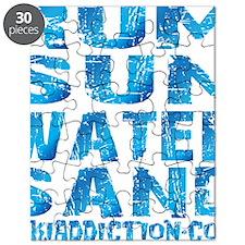 TIKI - RUM SUN WATER SAND - OCEAN Puzzle
