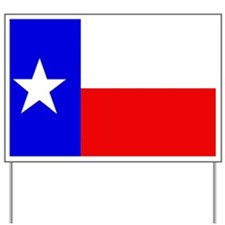 TEXAS FLAG Yard Sign