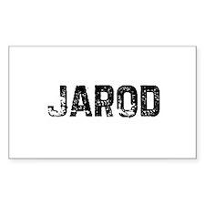 Jarod Rectangle Decal