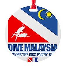 Dive Malaysia Round Ornament