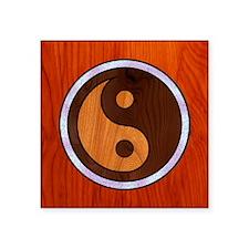 """wood-yang-TIL Square Sticker 3"""" x 3"""""""