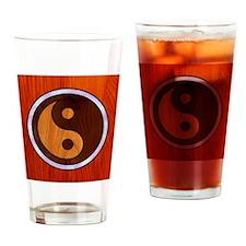 wood-yang-TIL Drinking Glass