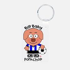 Big Baby Porkchop Soccer Keychains