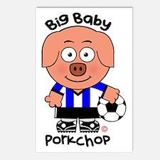 Big Baby Porkchop Soccer Postcards (Package of 8)