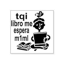 """Teen Texts tqi SPANISH Square Sticker 3"""" x 3"""""""