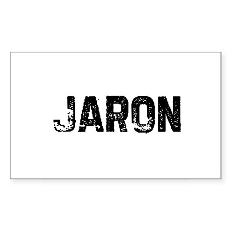 Jaron Rectangle Sticker