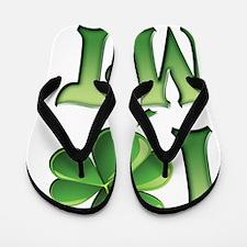 I Love Montana Flip Flops