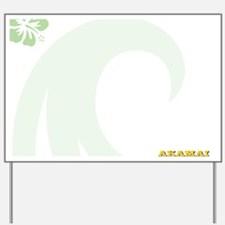 Akamai Magnetic Dry Erase Board Yard Sign