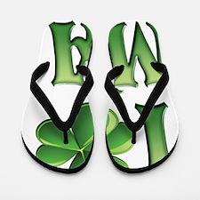 I Love Massachusetts Flip Flops