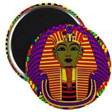 King Tut Pop Art Magnet