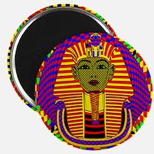 King Tut Pop Art Magnet