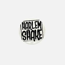 HARLEM SHAKE - BLACK Mini Button