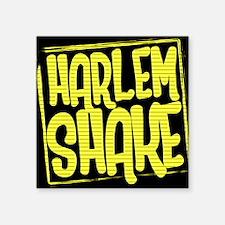 """HARLEM SHAKE - Yellow Square Sticker 3"""" x 3"""""""