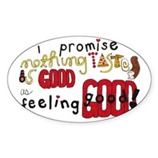 taste and feel - Inspirational Bumper Stickers