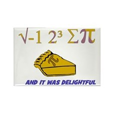 i ate sum pi t-shirt and it was d Rectangle Magnet