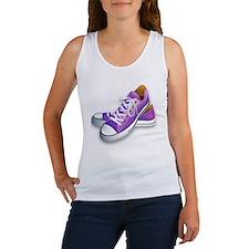 purple sneakers Women's Tank Top