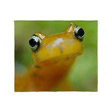 Salamander Throw Blanket