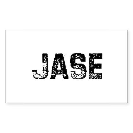 Jase Rectangle Sticker