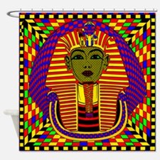 King Tut_blanket Shower Curtain