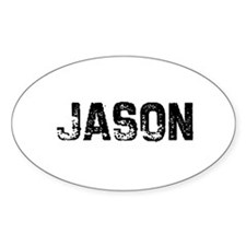 Jason Oval Decal