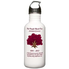 The Purple Beech Tree Water Bottle