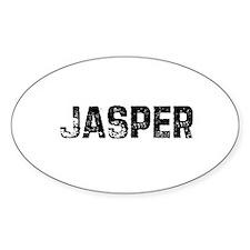 Jasper Oval Decal