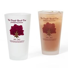 The Purple Beech Tree Drinking Glass