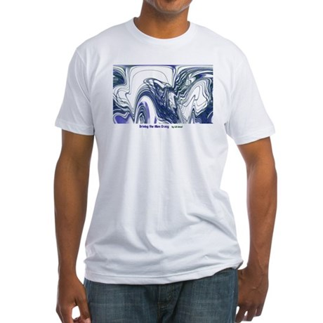 """""""Driving the Alien Crazy"""" Fitted T-Shirt"""