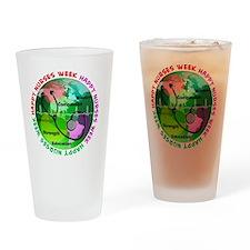 happy nurses week 2013 2 Drinking Glass