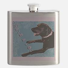 Save A Dog Flask