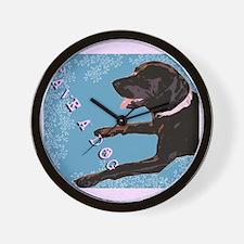 Save A Dog Wall Clock