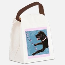 Save A Dog Canvas Lunch Bag