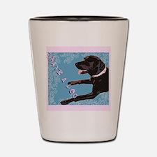 Save A Dog Shot Glass