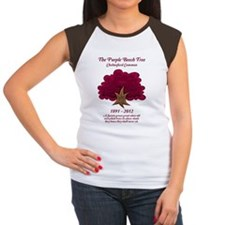The Purple Beech Tree Women's Cap Sleeve T-Shirt