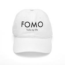 FOMO Black lettering Baseball Cap