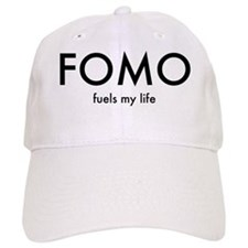 FOMO Black lettering Cap