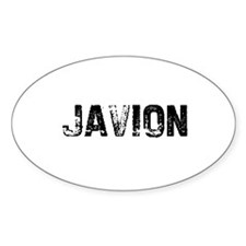 Javion Oval Decal