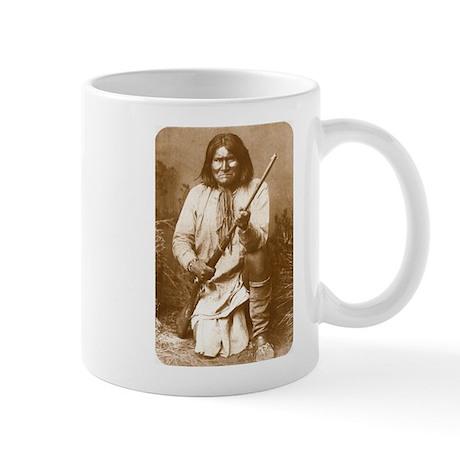 Geronimo Chiricahua Apache Chief Coffee Mug