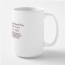 The Purple Beech Tree Large Mug