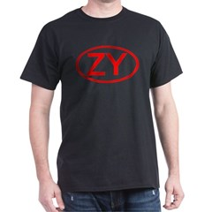 ZY Oval (Red) T-Shirt