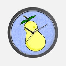 FRUIT PEAR KITCHEN WALL CLOCK