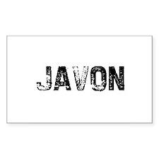 Javon Rectangle Decal