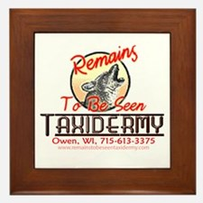 Remains to be seen Taxidermy Framed Tile