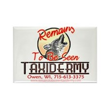 Remains to be seen Taxidermy Rectangle Magnet