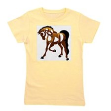 jasper brown horse Girl's Tee